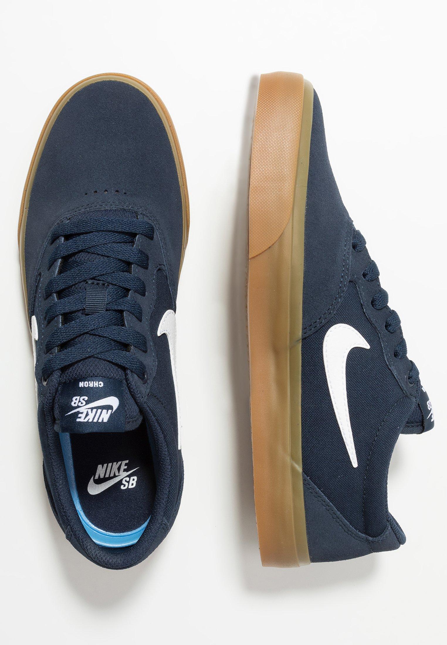 Nike SB CHRON SLR Sneakers basse obsidianwhitelight