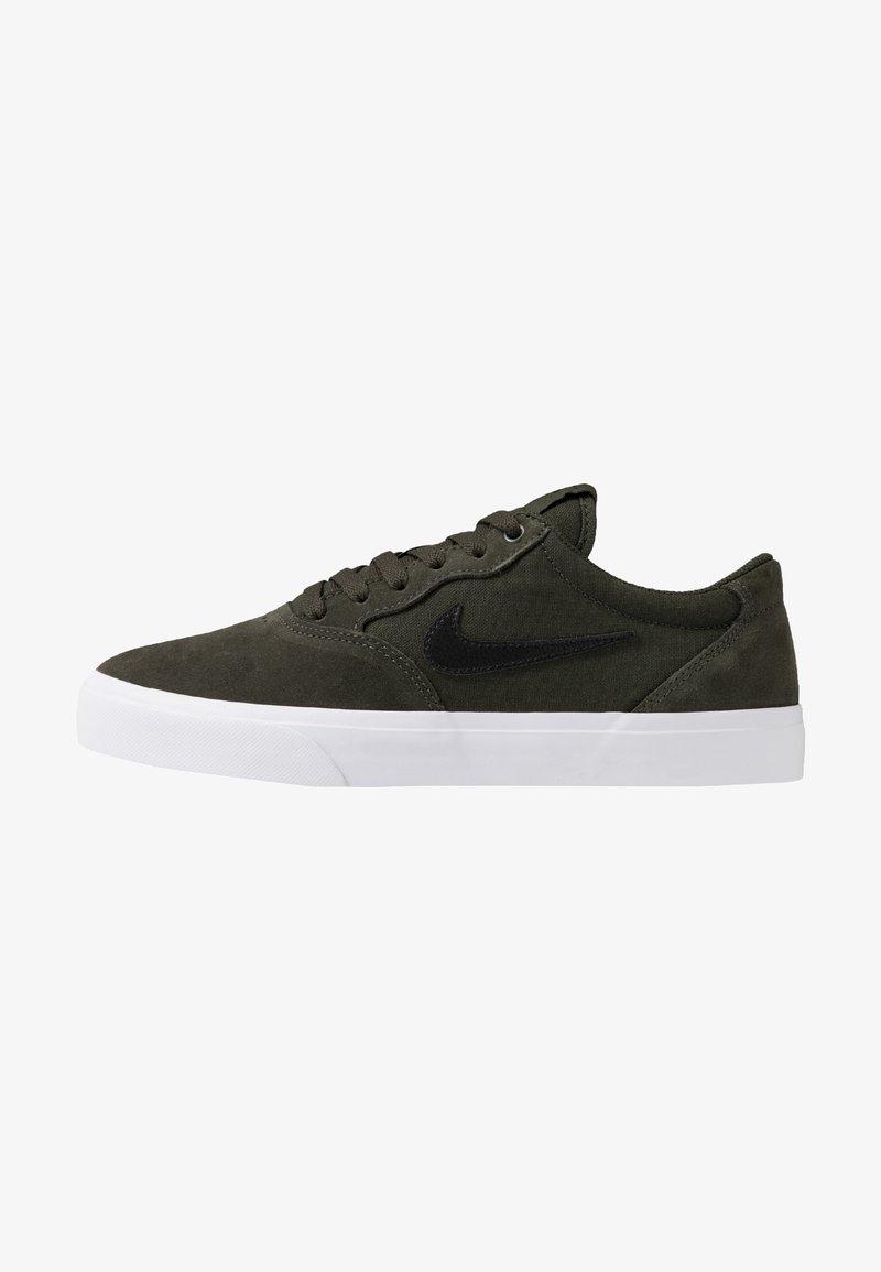 Nike SB - CHRON SLR - Sneakers basse - sequoia/black/light brown/white