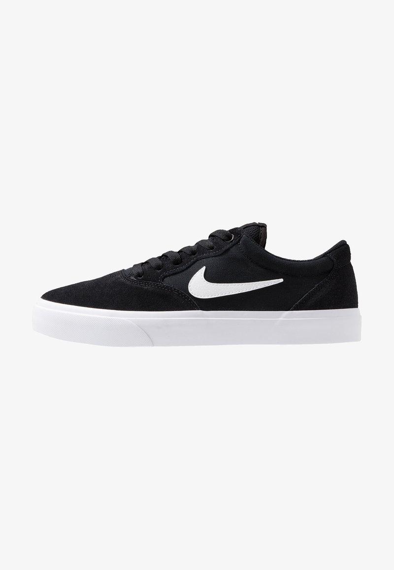 Nike SB - CHRON SLR - Sneakers laag - black/white