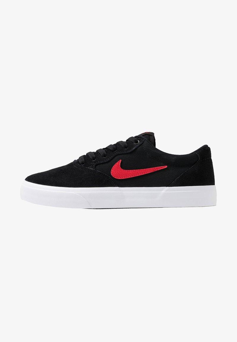 Nike SB - CHRON SLR - Sneakers basse - black/university  red