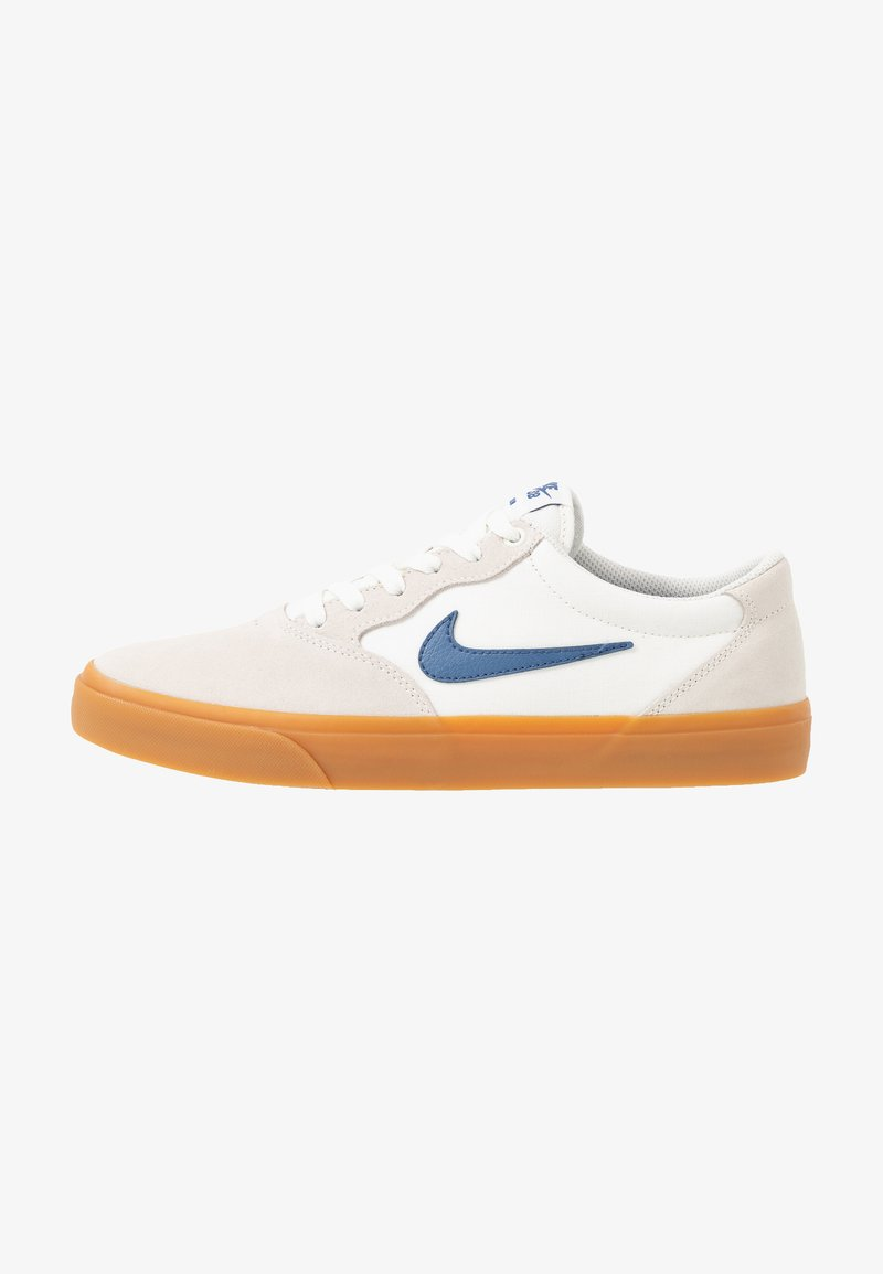 Nike SB - CHRON - Skate shoes - sail/mystic navy/light brown