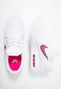 Nike SB - AIR MAX JANOSKI 2 - Sneakers laag - white/watermelon/midnight navy - 1