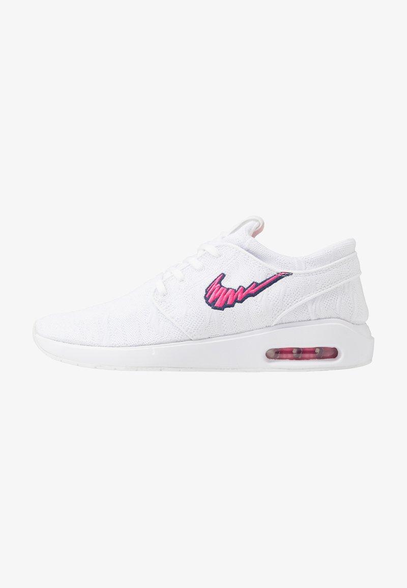 Nike SB - AIR MAX JANOSKI 2 - Sneakers laag - white/watermelon/midnight navy