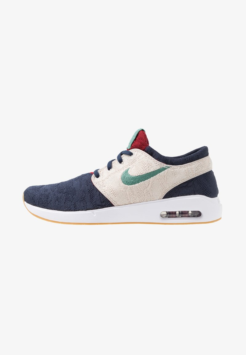 Nike SB - AIR MAX JANOSKI 2 - Sneakers laag - obsidian bicoastal/desert sand/light brown/team red