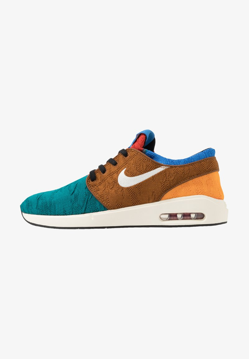 Nike SB - AIR MAX JANOSKI 2 - Tenisky - geode teal/pale ivory/light british tan/kumquat/mystic red/pacific blue