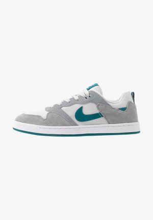 ALLEYOOP - Skateboardové boty - particle grey/geode teal/photon dust/white