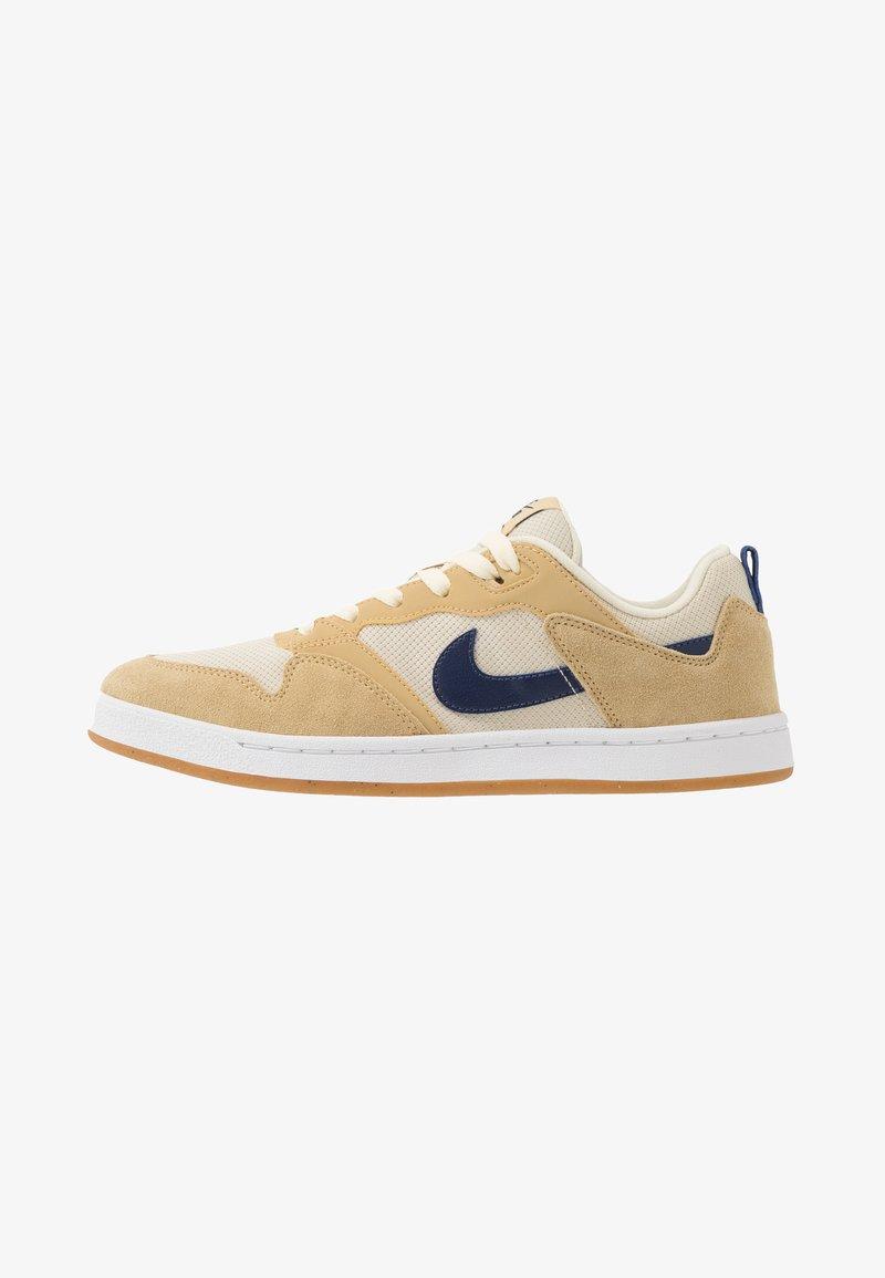 Nike SB - ALLEYOOP - Skateschoenen - club gold/midnight navy/fossil/white/light brown