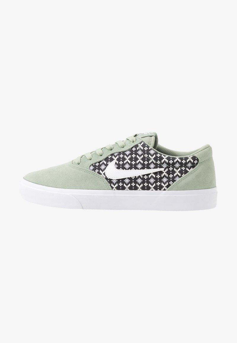 Nike SB - CHRON SLR PRM - Trainers - jade horizon/white