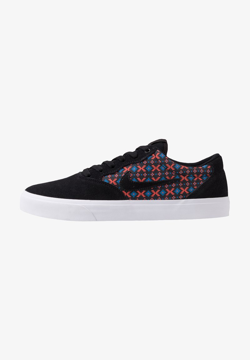 Nike SB - CHRON SLR PRM - Sneakers - black/geode teal/bright crimson/white