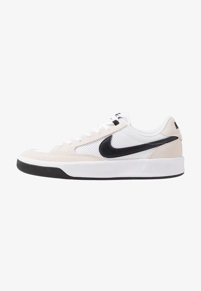 ADVERSARY - Chaussures de skate - white/black