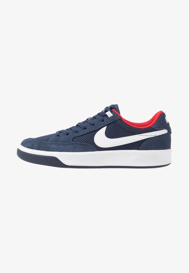 ADVERSARY - Skateschoenen - midnight navy/white/universal red