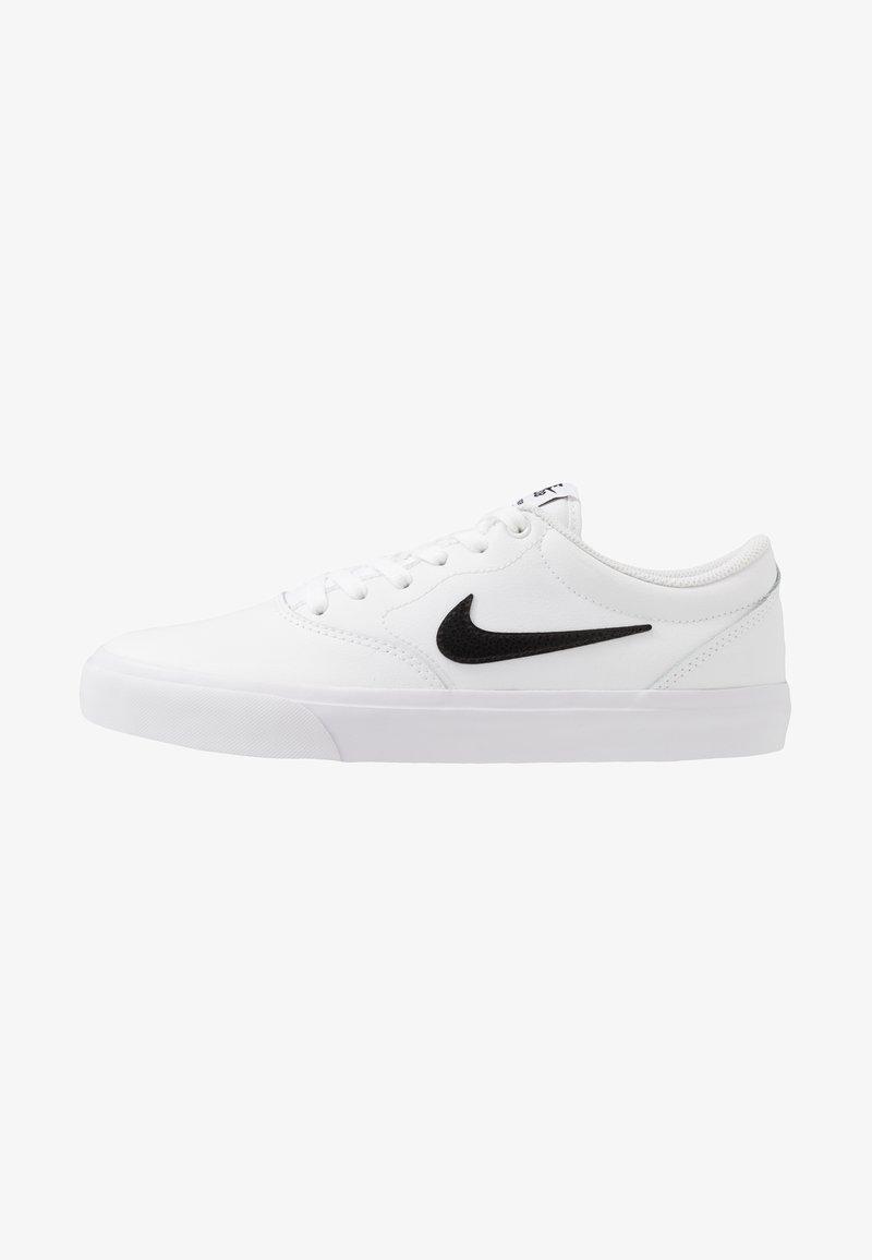 Nike SB - CHARGE PRM  - Sneakers laag - white/black