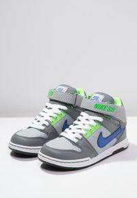 Nike SB - MOGAN MID 2 - Vysoké tenisky - wolf grey/game royal - 2