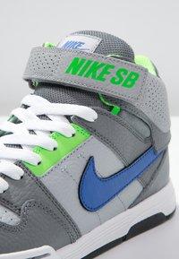 Nike SB - MOGAN MID 2 - Vysoké tenisky - wolf grey/game royal - 5