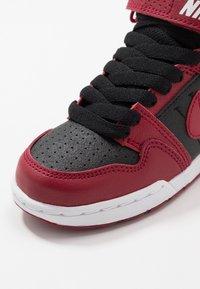 Nike SB - MOGAN MID 2 - High-top trainers - red crush/black/white - 2