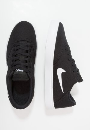 CHECK - Trainers - black/white