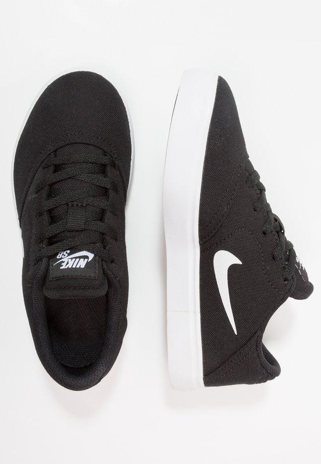 CHECK - Skateschuh - black/white