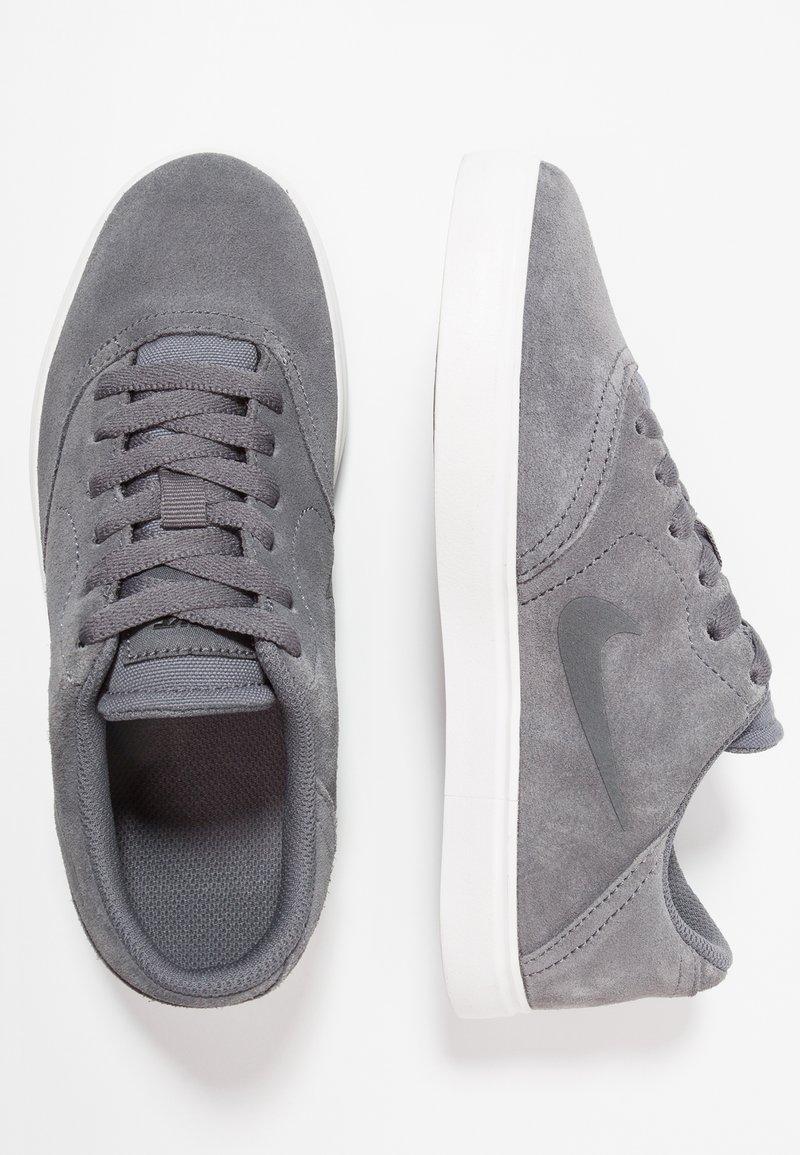 Nike SB - CHECK - Trainers - dark grey/black/summit white