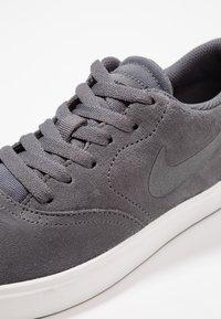 Nike SB - CHECK - Trainers - dark grey/black/summit white - 2
