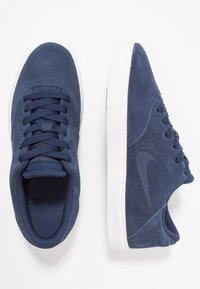 Nike SB - CHECK - Zapatillas - midnight navy/black/summit white - 0