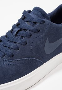 Nike SB - CHECK - Zapatillas - midnight navy/black/summit white - 2