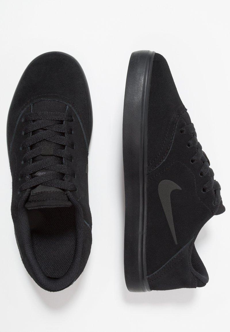 Nike SB - CHECK - Sneakersy niskie - black/anthracite