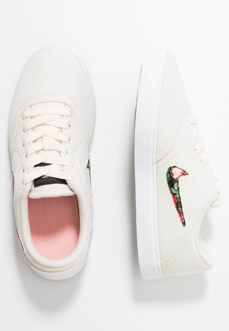 Nike SB - Sneaker low - pale ivory/black/pink tint/white