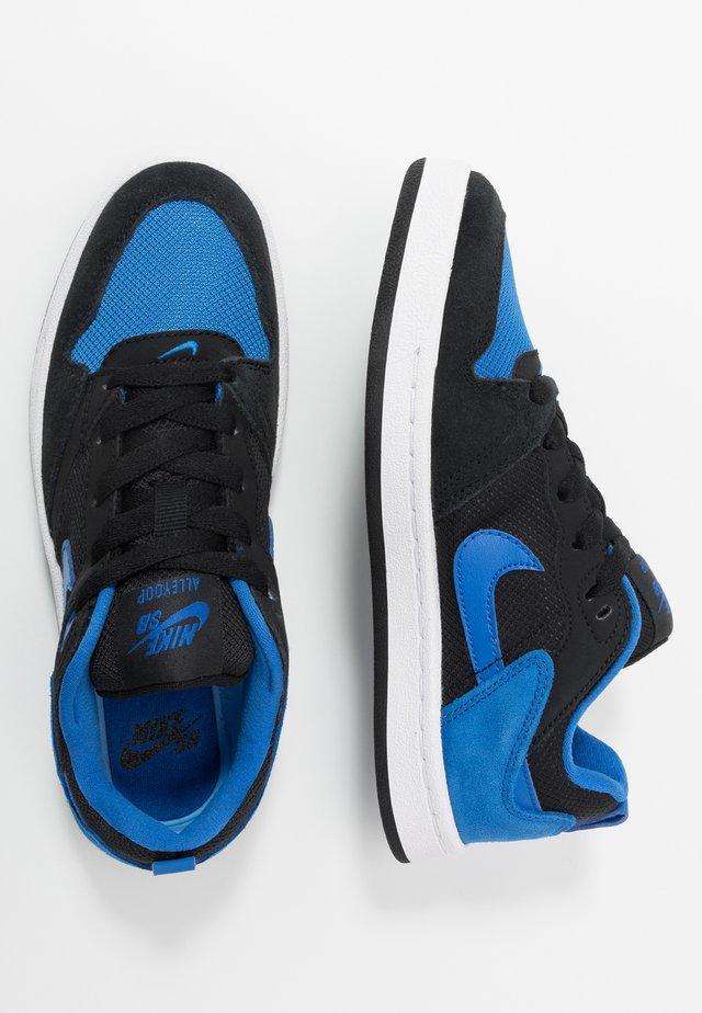 ALLEYOOP  - Sneakers - black/royal blue