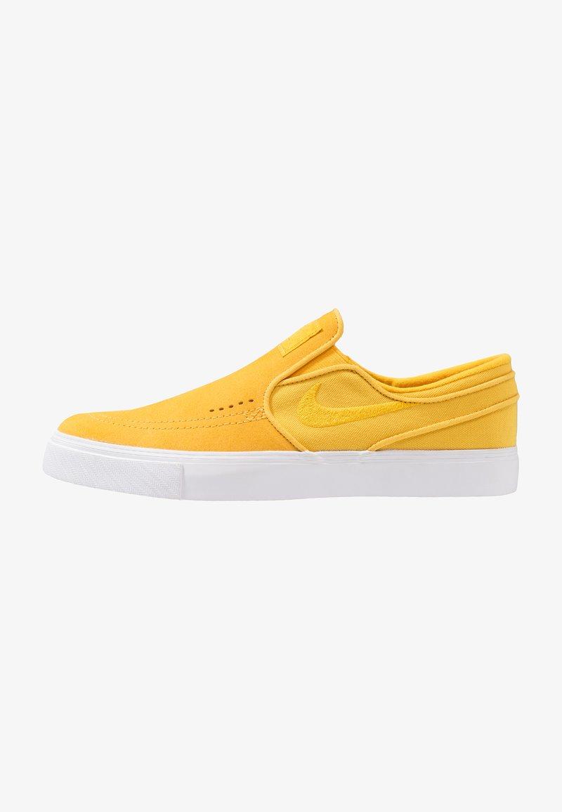 Nike SB - ZOOM STEFAN JANOSKI - Slip-ons - yellow ochre/white