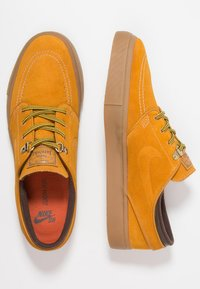 Nike SB - ZOOM JANOSKI PRM - Zapatillas - bronze/light brown/particle beige/baroque brown/medium brown - 1