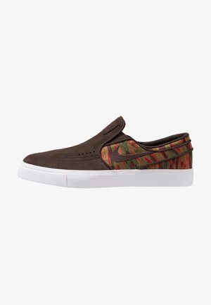 ZOOM STEFAN JANOSKI - Mocasines - brown/multicolor/white/yellow/yellow ochre