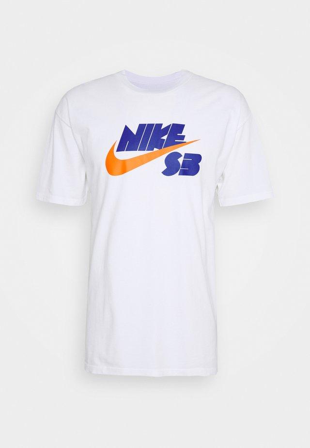 TEE LOGO UNISEX - T-shirts med print - white