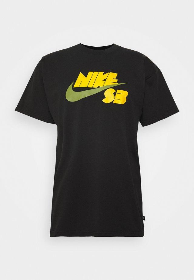TEE LOGO - T-Shirt print - black