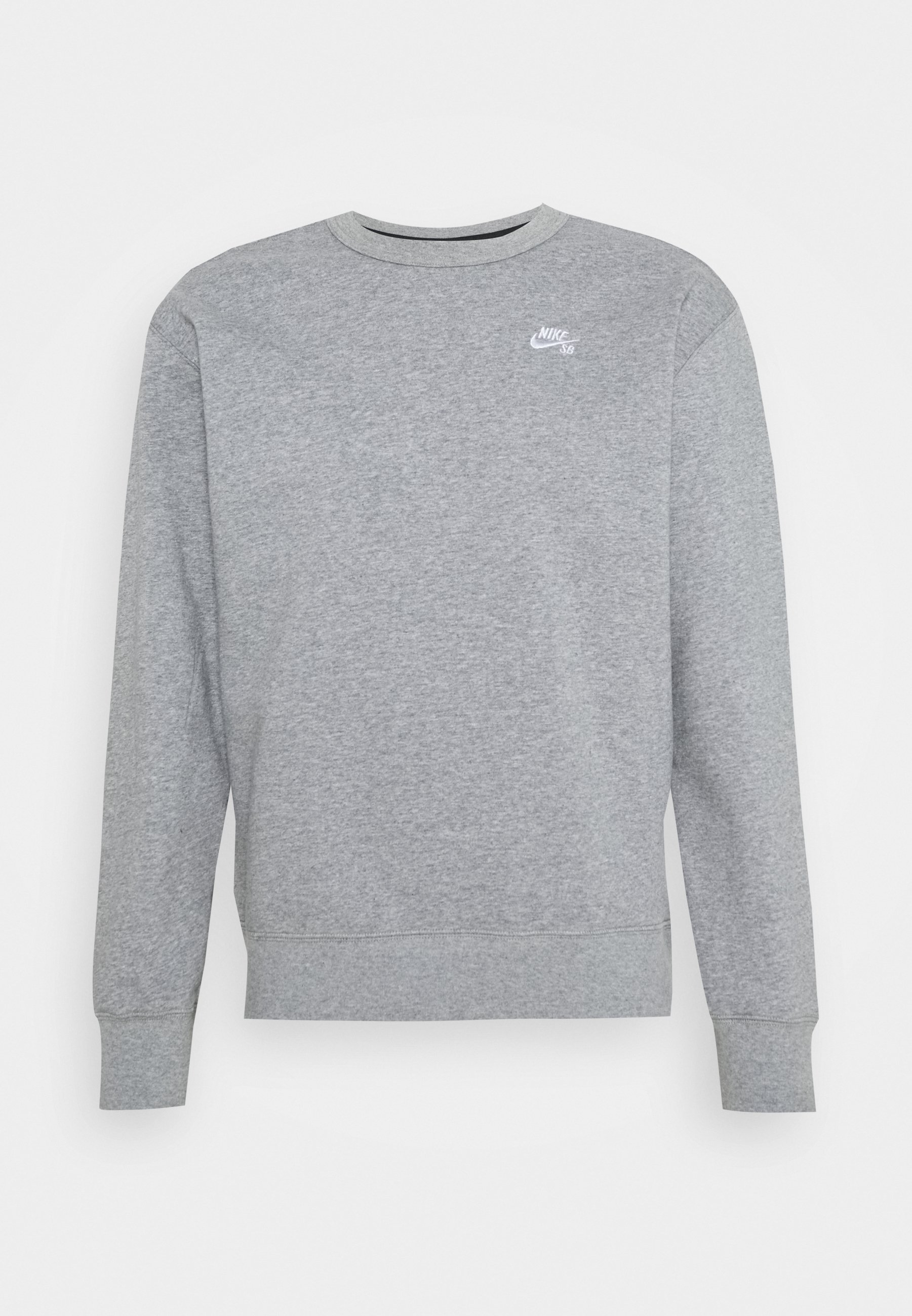 CREW Sweatshirt dark grey heatherwhite