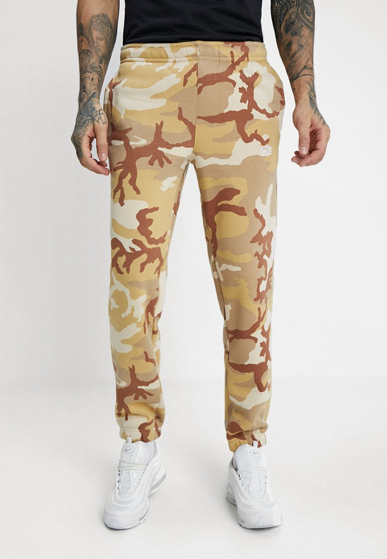 Nike SB - PANT ICON - Spodnie treningowe - desert ore