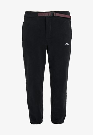 NOVELTY PANT - Spodnie treningowe - black/white