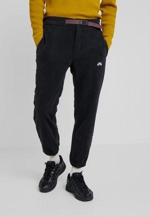 NOVELTY PANT - Tracksuit bottoms - black/white