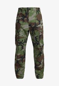 Nike SB - CAMO - Pantalones cargo - medium olive - 4