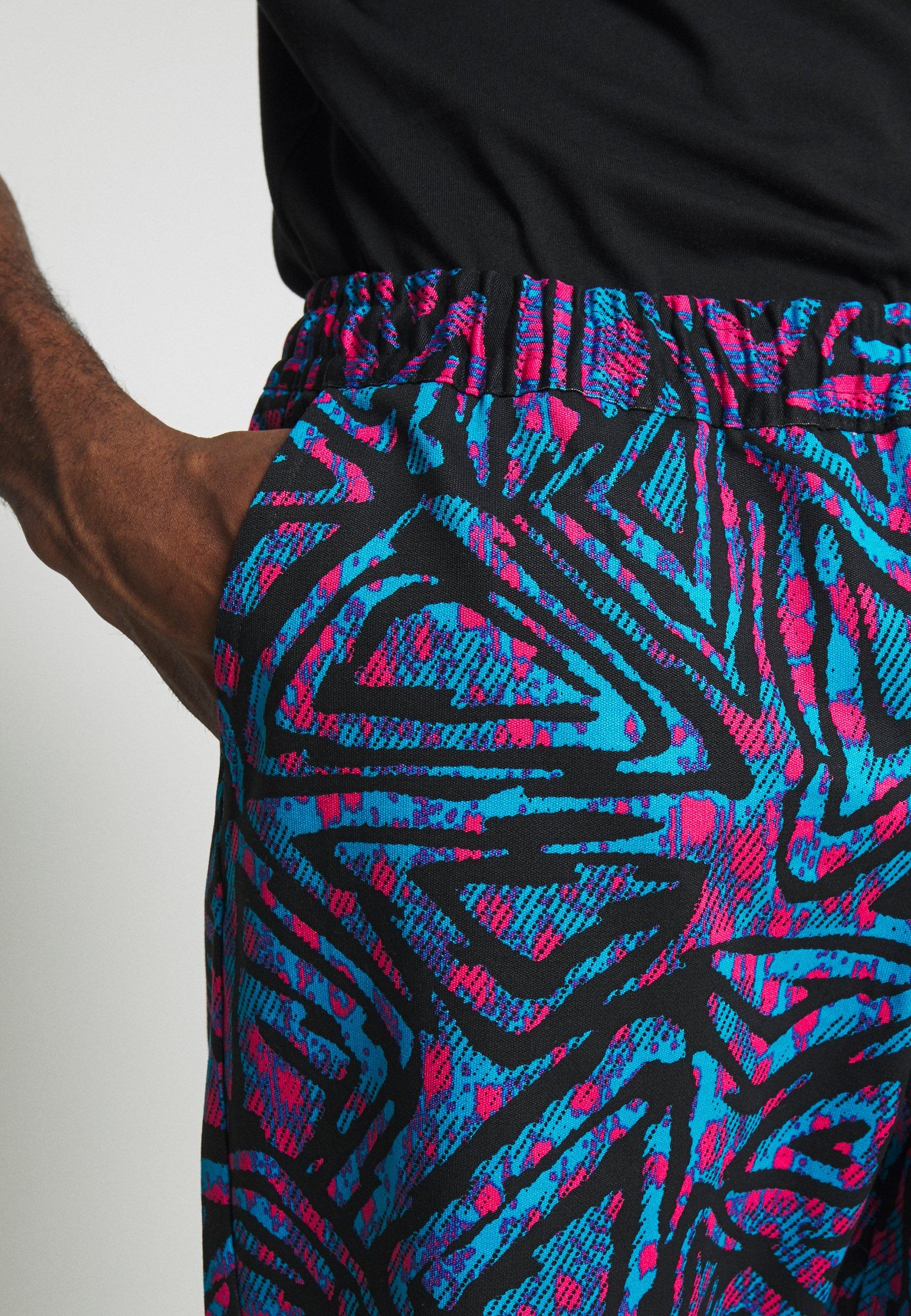 Nike Sb M Nk Pant Aop - Kangashousut Laser Blue/black/laser Blue