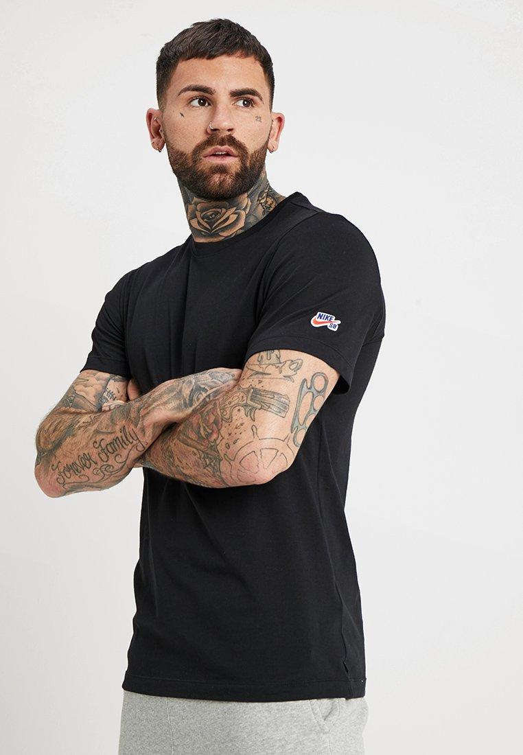 Nike SB - TEE ESSENTIAL - T-Shirt basic - black