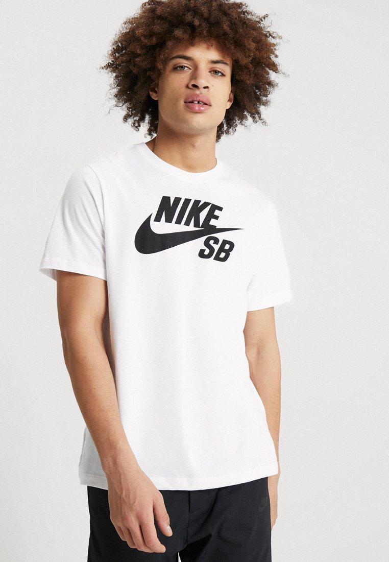 shirt LogoT Tee White Sb Imprimé Dry Nike q34Aj5RL