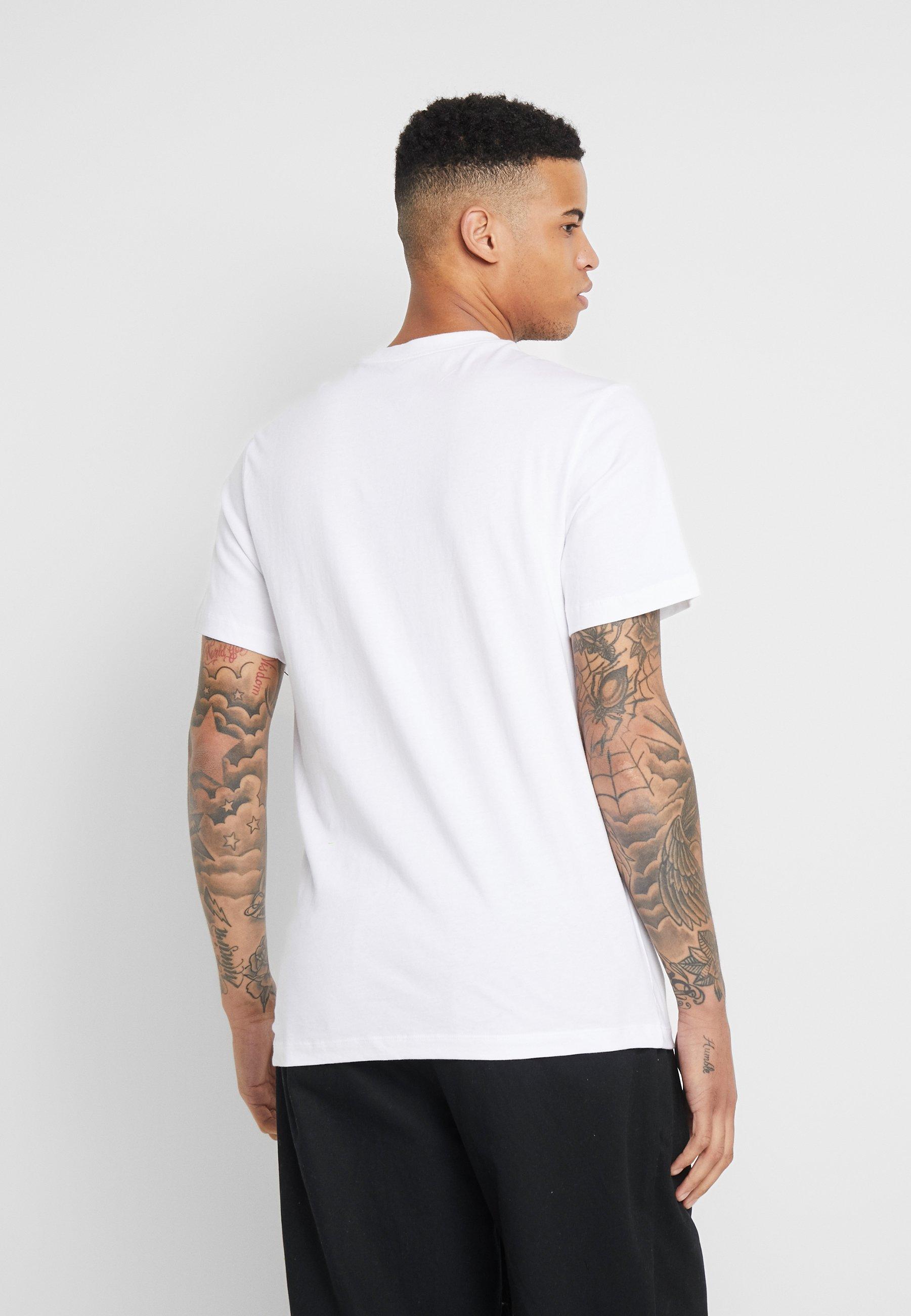 Nike SB TEE DINONIKE - T-shirt z nadrukiem - white