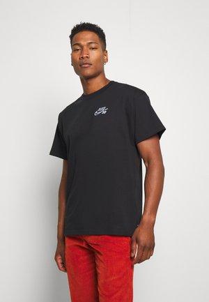 TEE YOON - Print T-shirt - black
