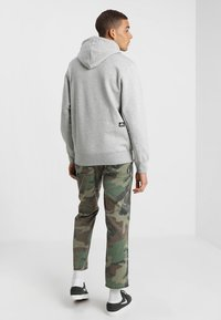 Nike SB - ICON HOODIE - Luvtröja - grey heather - 2