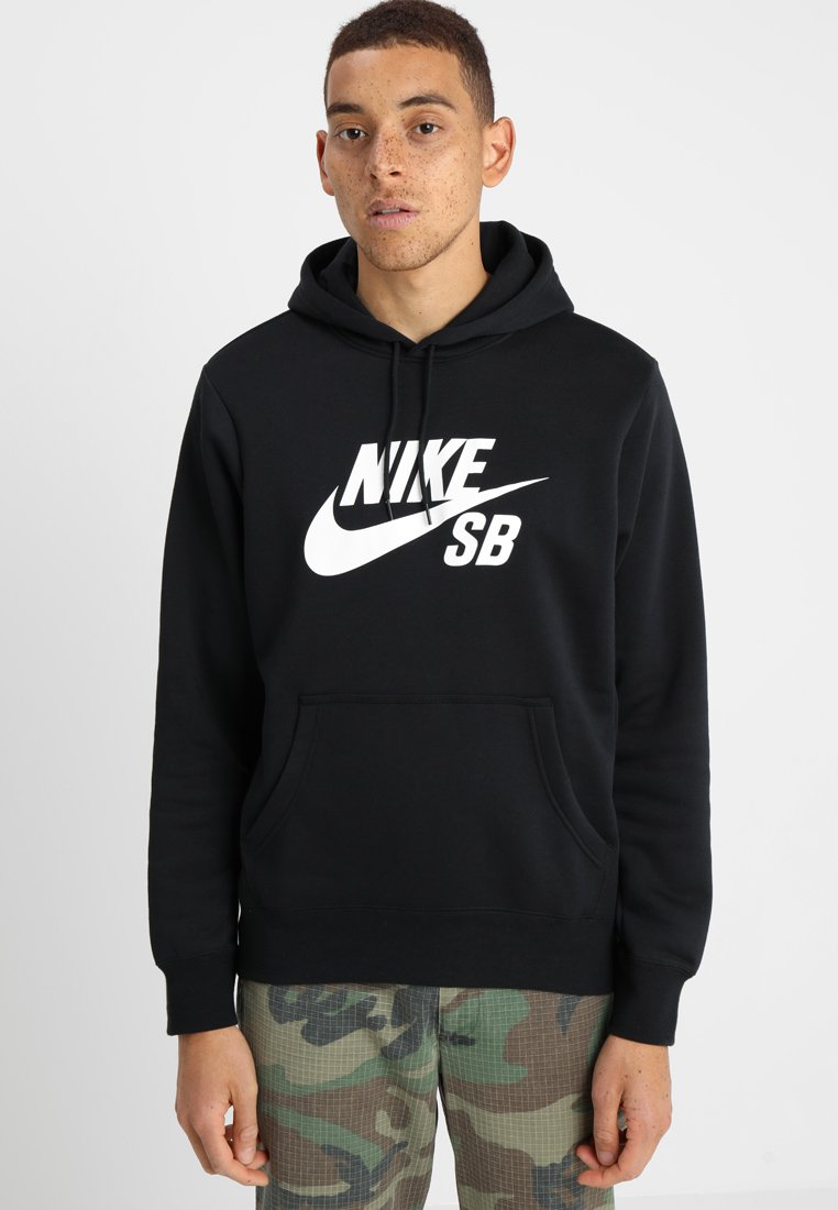 HoodieSweat Icon Capuche Nike white Black À Sb SVUpzM
