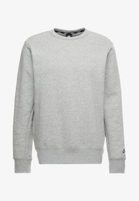 dark grey heather/black
