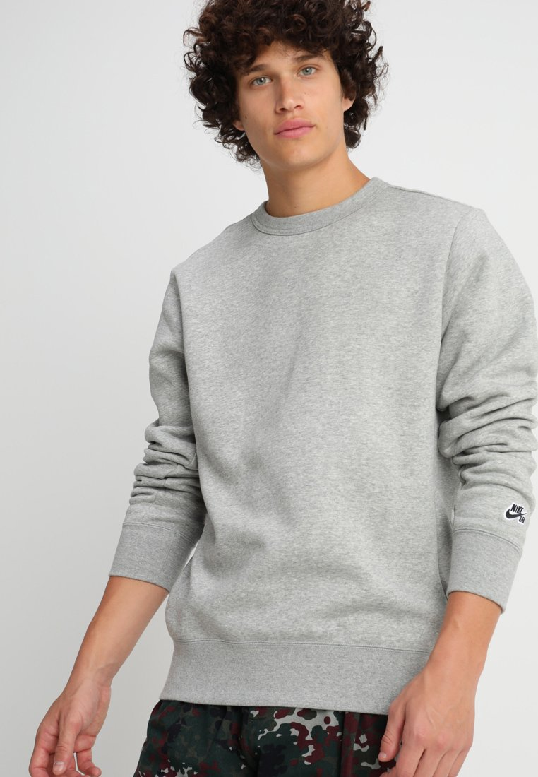 Nike SB - CREW ICON - Sweatshirts - dark grey heather/black
