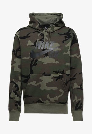 HOODIE ICON - Sweat à capuche - medium olive/black