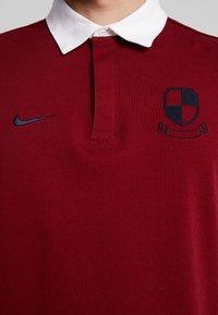 Nike SB - RUGBY - Sweatshirt - team red/white/dark obsidian - 5
