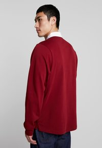 Nike SB - RUGBY - Sweatshirt - team red/white/dark obsidian - 2